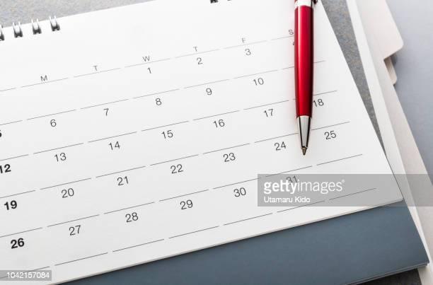 deadline. - kalender stock-fotos und bilder