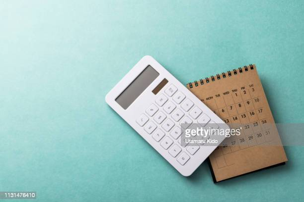 deadline. - calculator stock photos and pictures