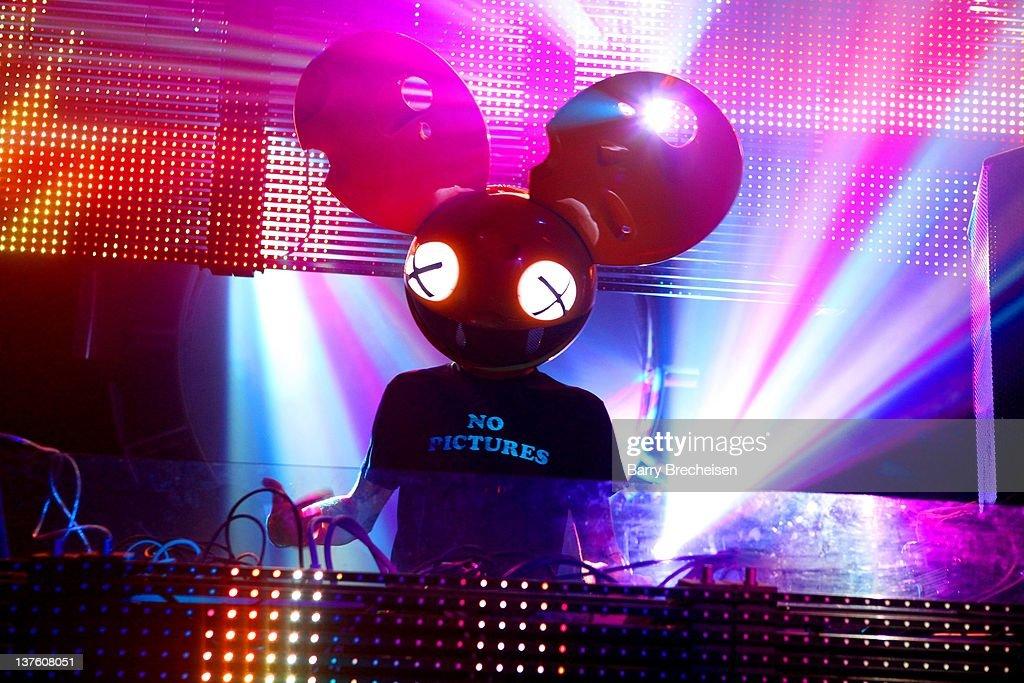 DJ Set By Deadmau5 At Park City Live - 2012 Park City