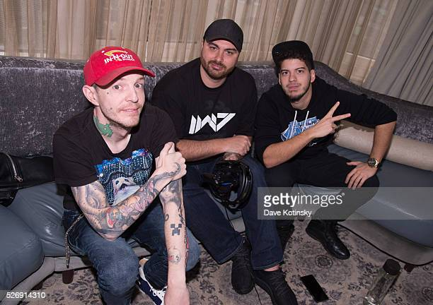 Deadmau5 takes on Typical Gamer in Call of Duty Black Ops 3on May 1 2016 in New York City