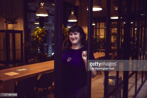 Deadspin Editor Megan Greenwell at her office in Manhattan New York on November 1 2018