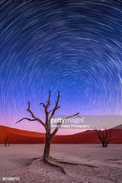 Deadvlei Star Trail, Namib-Naukluft National Park, Namibia
