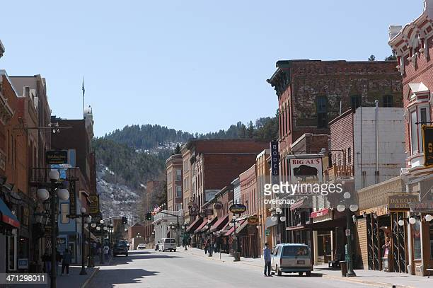 deadwood - black hills - fotografias e filmes do acervo