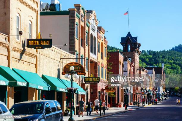 deadwood, south dakota - deadwood south dakota stock pictures, royalty-free photos & images