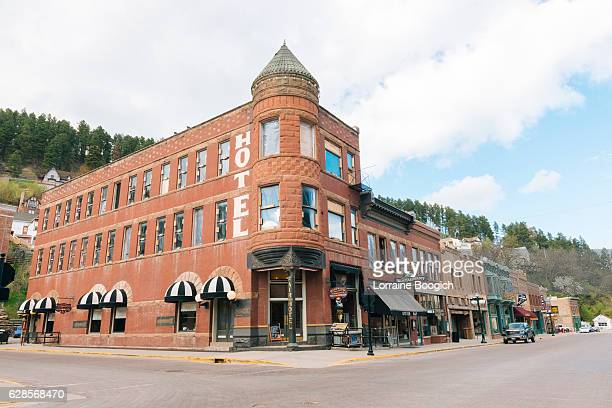 Deadwood South Dakota Western Architecture Small Town American History USA