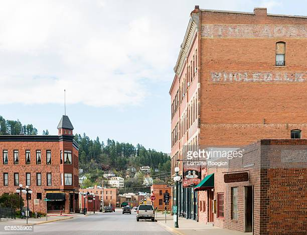 Deadwood South Dakota Wild Western Small Town American History USA