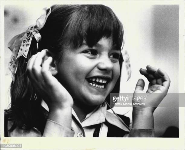 Deaf Girl Hears Pia Jeffrey of Artarmon Sydney the first child born deaf to receive the bionic ear is 'switched onHer hearing for the first time...