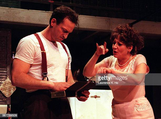 Deaf West Theatre Performs Tennessee Williams Classic Drama A Streetcar Named Desire Scene Of Troy Kotsur
