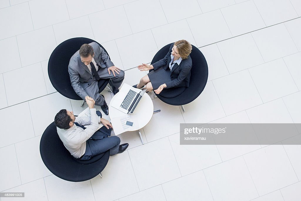 Deal done : Stock Photo