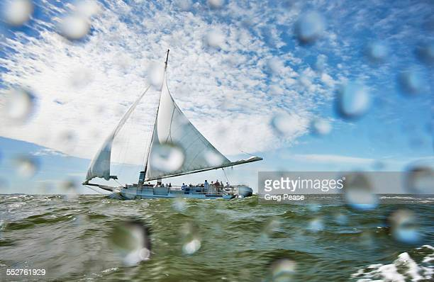 """deal island annual skipjack race - """"greg pease"""" stock pictures, royalty-free photos & images"""