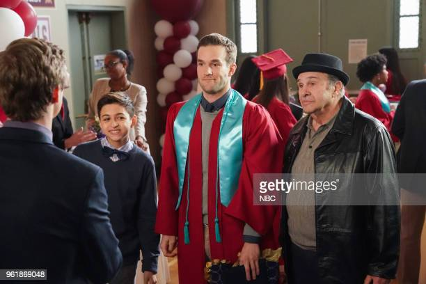 CHAMPIONS 'Deal or No Deal' Episode 110 Pictured JJ Totah as Michael Andy Favreau as Matthew Robert Costanzo as Uncle Bud