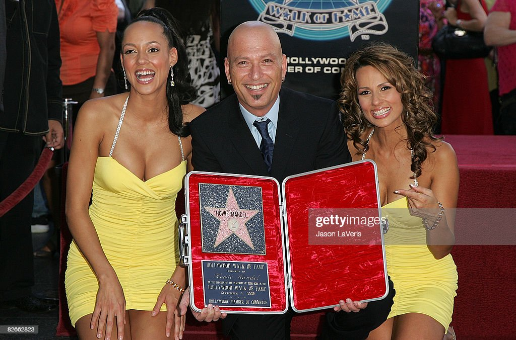 deal or no deal s howie mandel honored with star on hollywood walk