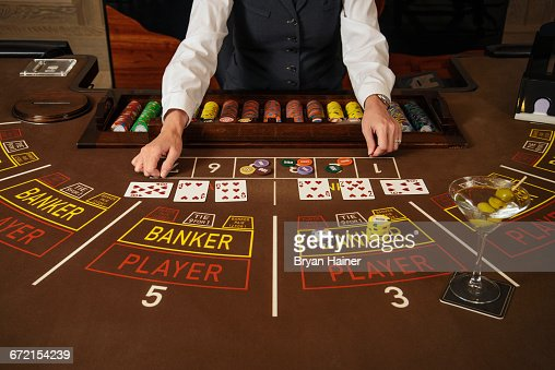 291 Baccarat Table Photos And Premium High Res Pictures Getty Images