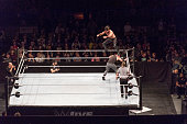 cologne germany dean ambrose competes ring