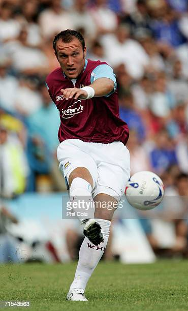 Dean Ashton of West Ham United in action during the Pre Season Friendly Match between Gillingham and West Ham at Priestfield Stadium on July 29 2006...