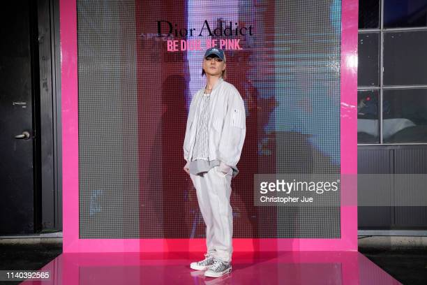 Dean attends Dior Addict Stellar Shine launch at Layers 57 on April 04 2019 in Seoul South Korea