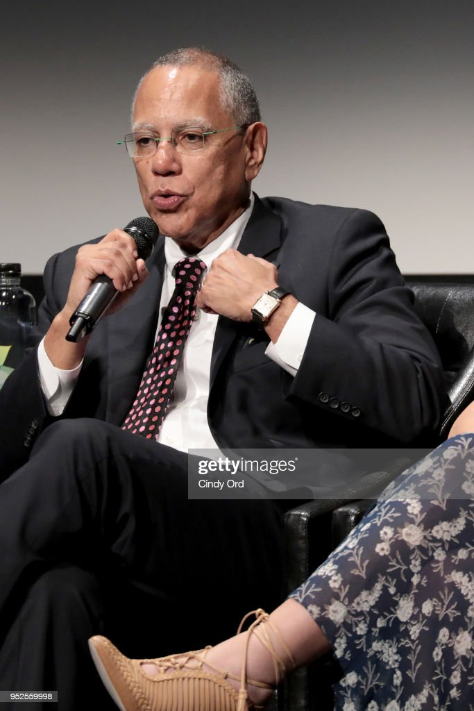 Dean Baquet speaks on stage at Showtime's World Premiere of The Fourth Estate at Tribeca Film Festival Screening at BMCC Tribeca Performing Arts Center on April 28, 2018 in New York City.