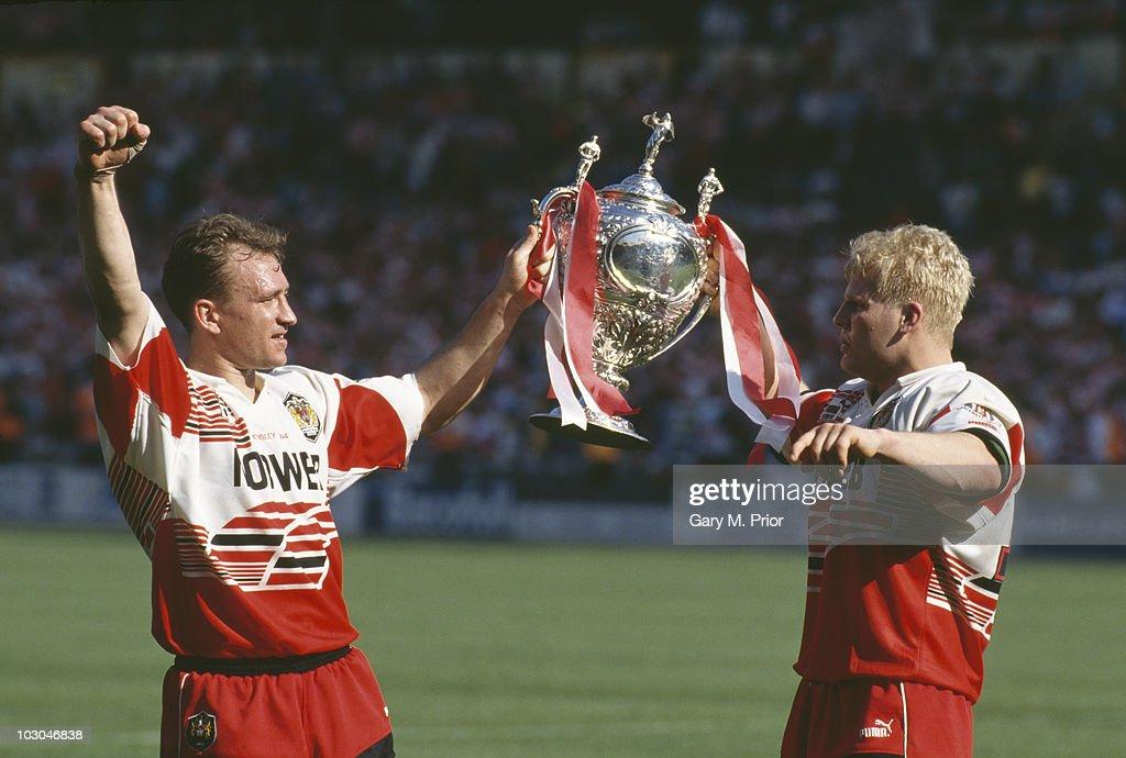 Wigan Win Cup : News Photo