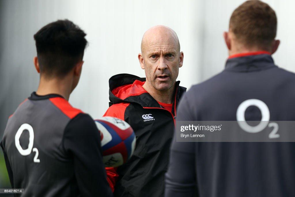 England Training Session : Nachrichtenfoto