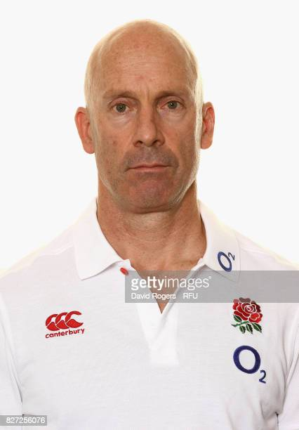 Dean Benton the England head of sports science poses for a portrait at The Lensbury on August 5 2017 in Teddington England
