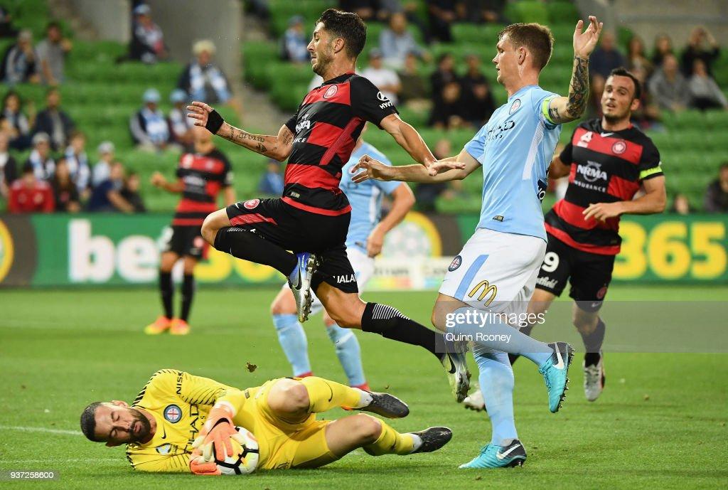 A-League Rd 24 - Melbourne v Western Sydney