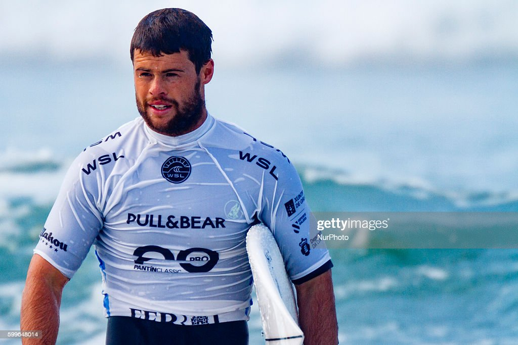 Dean Bowen during Pantin Classic Galicia Pro 2016, Qualifying Series 6,000 of World Surf League (WSL) celebrated in the Pantin beach, A Coruña, Galicia, Spain on 30 August - 4 September, 2016.