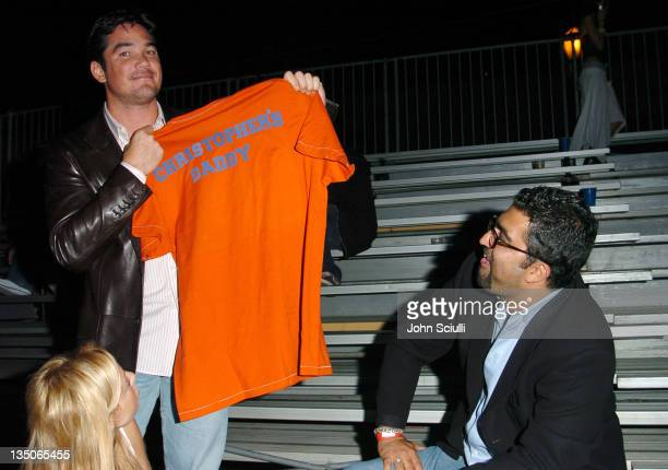Dean Cain and Kia Jam of Accended Pictures during American Eagle Outfitters Rocks Los Angeles with a Back to School Tailgate Party Inside at...