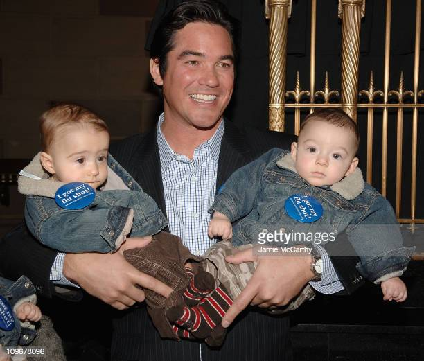 Dean Cain attends The American Lung Association's Faces of Influenza at Gotham Hall in New York October 12 2007