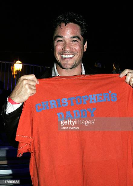 Dean Cain during American Eagle Outfitters Rocks Los Angeles with a Back to School Tailgate Party - Inside at Hollywood Lot in Hollywood, California,...
