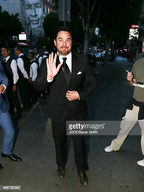 Dean Cain is seen in Los Angeles on March 14 2015 in Los Angeles California