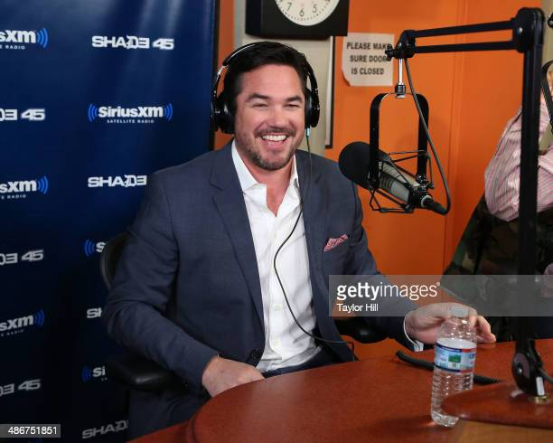 Dean Cain visits 'Sway in the Morning' at SiriusXM Studios on April 25 2014 in New York City
