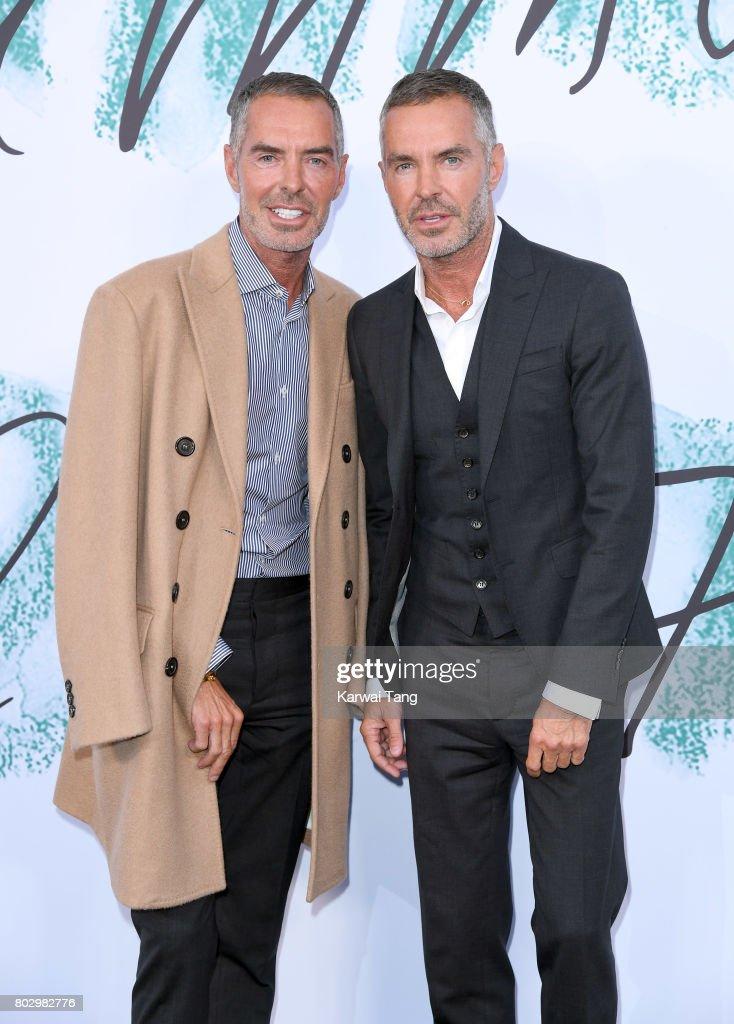 Dean Caten and Dan Caten attend The Serpentine Gallery Summer Party at The Serpentine Gallery on June 28, 2017 in London, England.