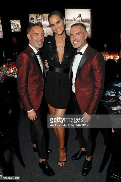 Dean Caten Izabel Goulart Dan Caten attend amfAR Gala Milano on SeptCaten ember 21 2017 in Milan Italy
