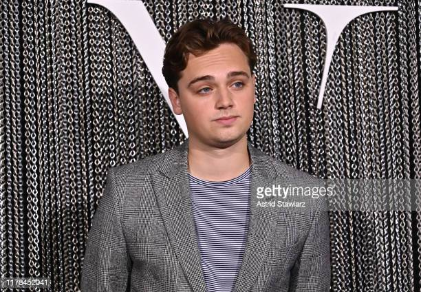 """Dean- Charles Chapman attends """"The King"""" New York Premiere at SVA Theater on October 01, 2019 in New York City."""