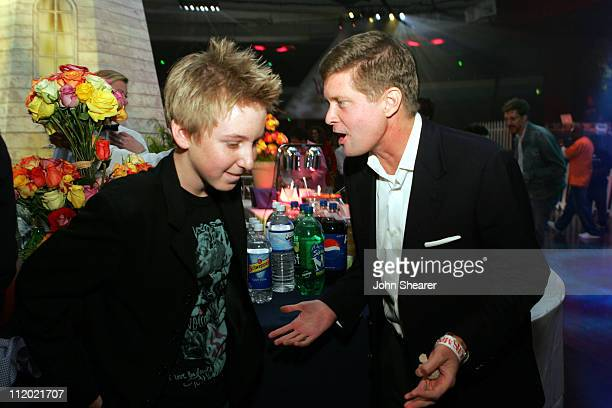 Dean Collins and Robert Simonds Producer during 'Yours Mine and Ours' Los Angeles Premiere After Party at Palladium in Hollywood California United...