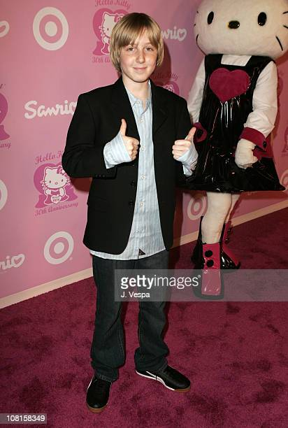 Dean Collins during 30th Anniversary Party for Hello Kitty Presented by SANRIO and Target Pink Carpet at Raleigh Studios in Hollywood California...