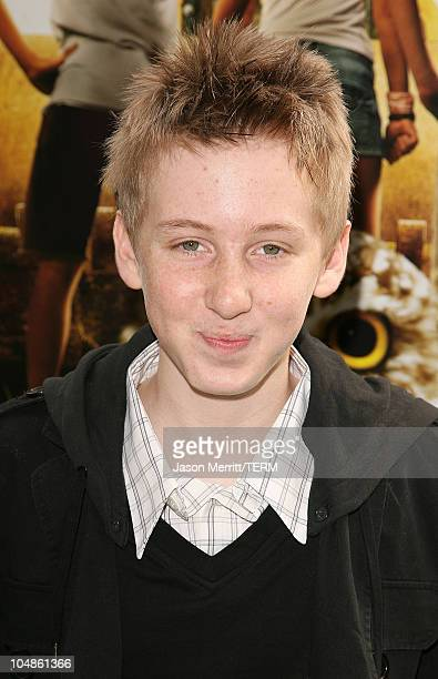 Dean Collins during 'Hoot' Los Angeles Premiere Arrivals at The Grove in West Hollywood California United States