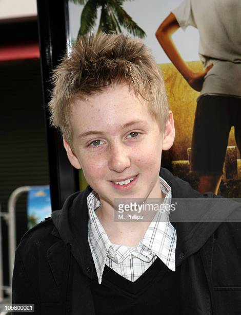 Dean Collins during 'Hoot' Los Angeles Premiere Arrivals in Los Angeles California United States