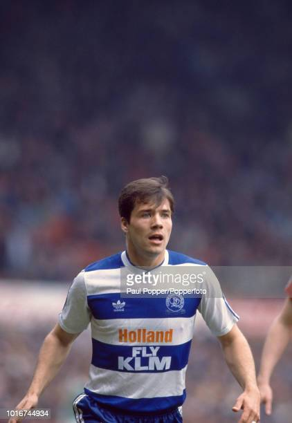 Dean Coney of Queens Park Rangers in action during the Barclays League Division One match between Manchester United and Queens Park Rangers at Old...