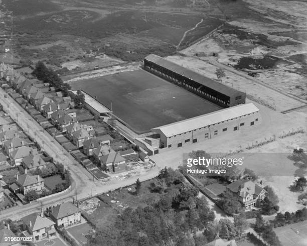 Dean Court football ground Bournemouth Dorset 1937 Aerial view of the home of Bournemouth and Boscombe Athletic Football Club who have since become...