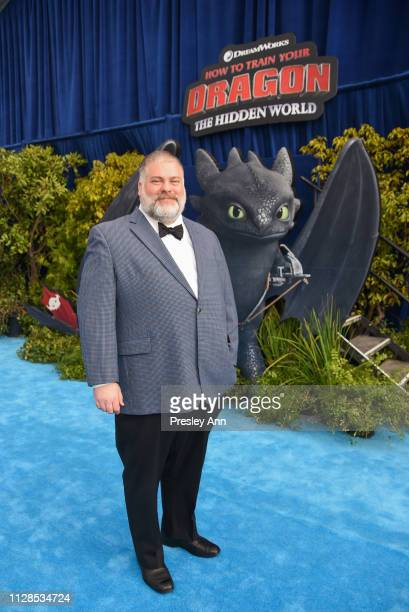 Dean DeBlois attends Universal Pictures and DreamWorks Animation Premiere of How to Train Your Dragon The Hidden World at Regency Village Theatre on...