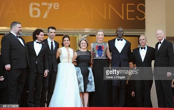 Dean DeBlois Kit Harrington Jay Baruchel America Ferrera Bonnie Arnold Cate Blanchett Djimon Hounsou Jeffrey Katzenberg and President of the Cannes...