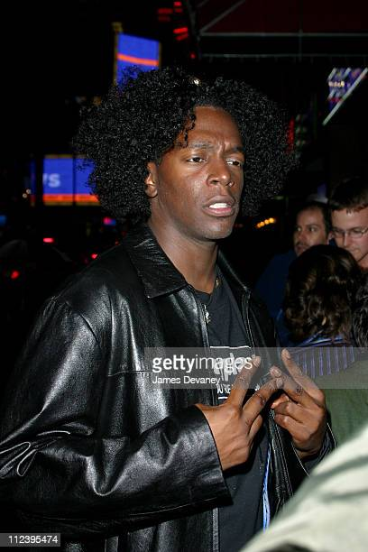 Dean Edwards during Sarah Michelle Gellar Hosts SNL AfterParty at Times Square in New York City New York United States