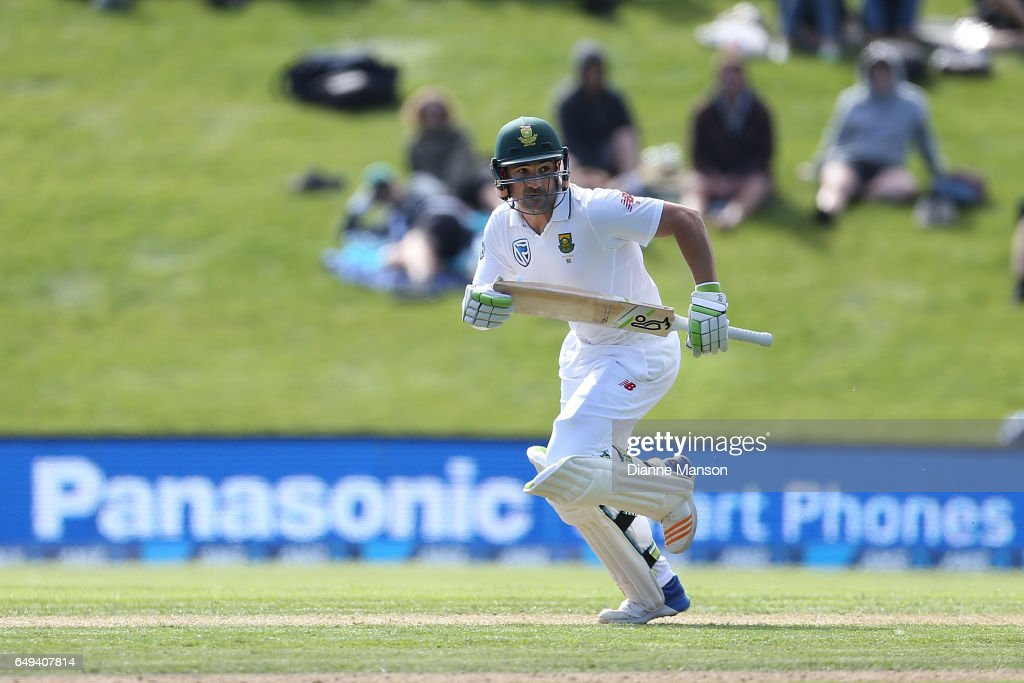 New Zealand v South Africa - 1st Test: Day 1 : News Photo