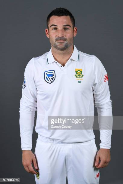 Dean Elgar of South Africa poses for a portrait at Lord's Cricket Ground on July 4 2017 in London England