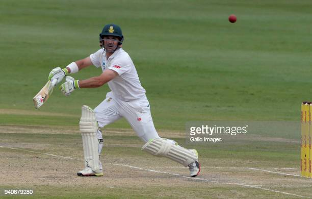 Dean Elgar of the Proteas during day 3 of the 4th Sunfoil Test match between South Africa and Australia at Bidvest Wanderers Stadium on April 01 2018...
