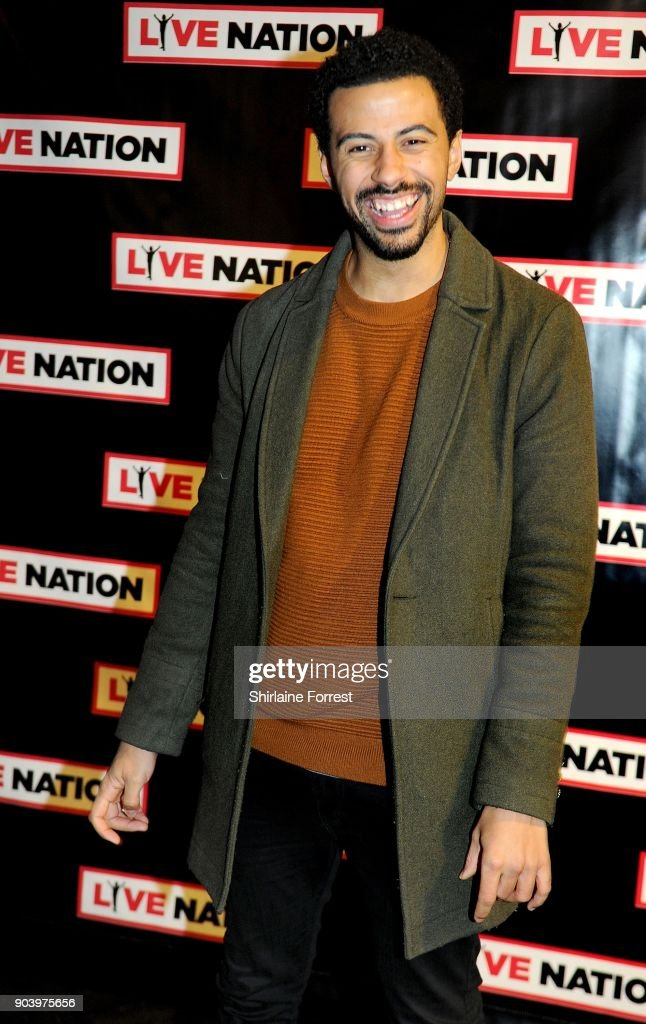 Dean Fagan attends Chris Rock's celebrity gala on the opening night of his UK tour at Manchester Arena on January 11, 2018 in Manchester, England.