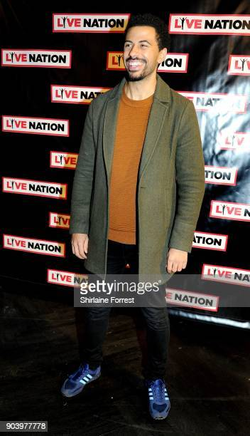 Dean Fagan attends Chris Rock's celebrity gala on the opening night of his UK tour at Manchester Arena on January 11 2018 in Manchester England