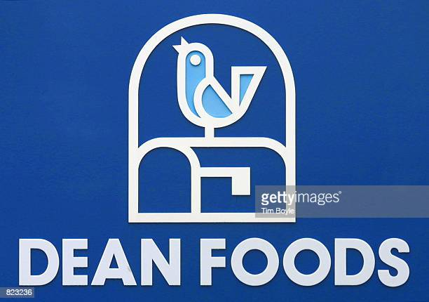 Dean Foods corporate logo is visible on a sign April 6 2001 at the Franklin Park IL corporate headquarters In a giant milk merger pairing the two...