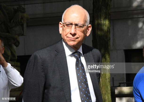 Dean Fuleihan deputy mayor for New York City arrives at federal court in New York US on Tuesday June 19 2018 State University of New York's...